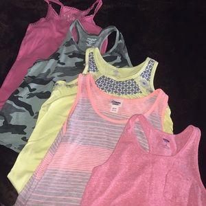 Bundle of girls tank tops